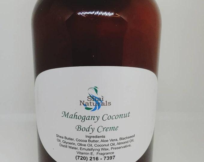 Mahogany Coconut Body Creme