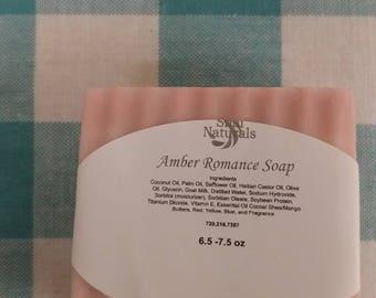 Amber Romance Soap