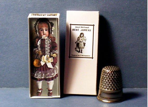 Dollhouse Miniature 1:12 Baby Crissy Doll Box dollhouse girl nursery