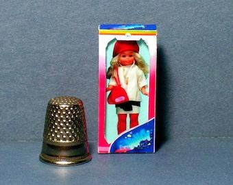 Famosa Nancy Doll Box -  Boutique  - Spain -   Dollhouse Miniature - 1:12 scale - Dollhouse Accessory - 1980s Dollhouse girl toy