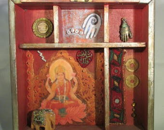 LAKSHMI GODDESS SHRINE