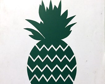 Paper cutting template, personal use, pineapple template, DIY paper cut, paper art, fruit template, pun papercut template, fruity template