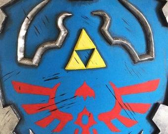 Legend of Zelda Props Sword and Shield Cosplay Costume
