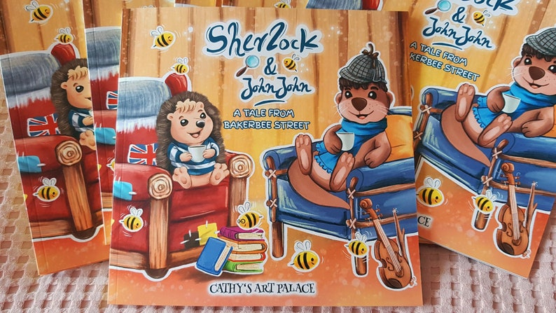 PICTURE BOOK  Sherlock & JohnJohn  A Tale from BakerBee image 0