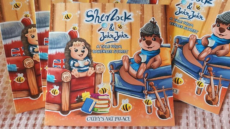 BOOK  Sherlock & JohnJohn  A Tale from BakerBee Street  image 0