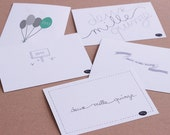 Lot of 10 assorted greeting cards