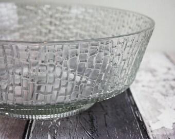Vintage glass apple shaped bowl set fruit salad bowls trifle | Etsy