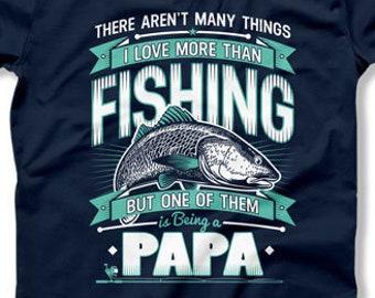 c4c591ccd Papa Fishing Shirt Grandpa Gift Outdoor T Shirt Fisherman Gifts Dad Shirt  Outdoor Clothes Papa Gifts Outdoorsman Fathers Day Present TEP-323