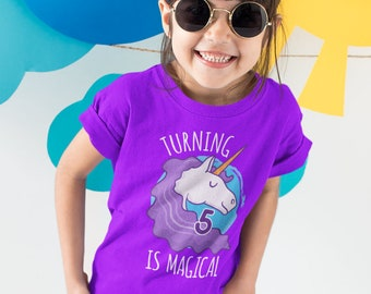Fifth Birthday Shirt 5th Gift Unicorn T 5 Year Old Ideas Bday Gifts For TEP1502