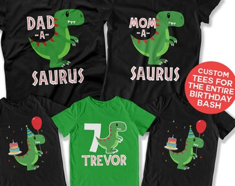 Dinosaur Theme Birthday Party Ideas For 7 Year Old Boy Shirt 7th Outfit Kids T Bday Gift DAT 3119 20 27 29