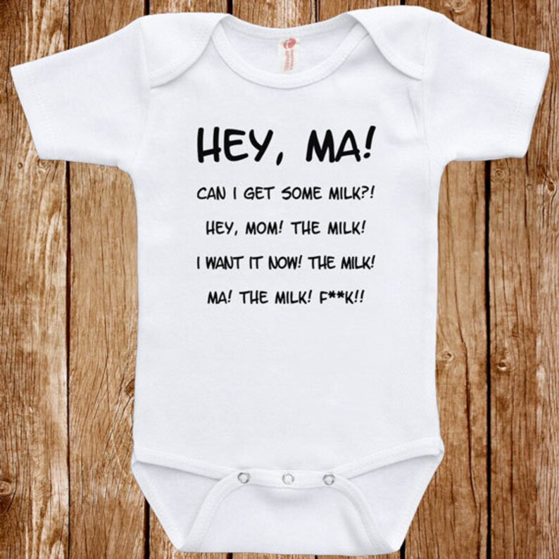 226d7cca465 Baby Infant Bodysuit Anchor Man Quote Clothes One piece Romper