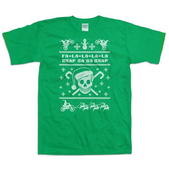 Ugly Christmas T Shirt Fa La La Christmas Gift Ideas Holiday   Etsy