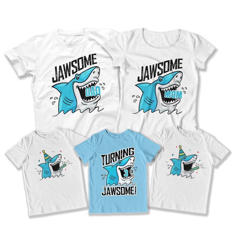 3rd Birthday Shirt Matching 3 Year Old Boy Gift For