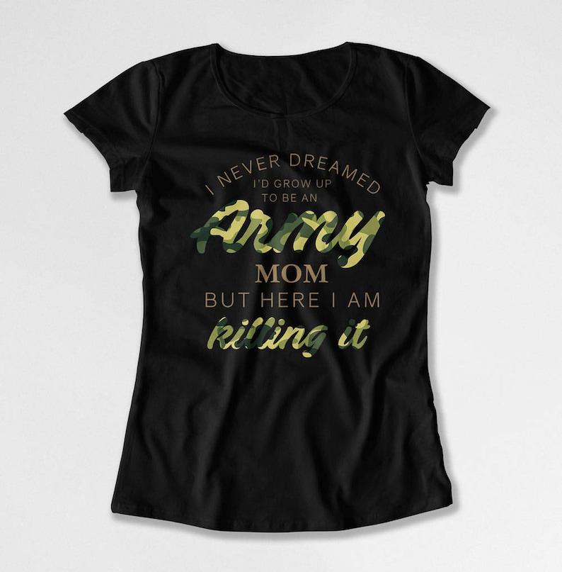b9ef2507cc Army Mom Shirt Mom Gift Ideas For Her Military Mom Shirt   Etsy