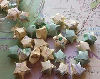 20 Handcut Atlas Lucky Stars