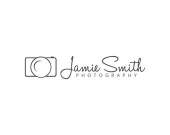 photography logo custom logo premade design photography etsy