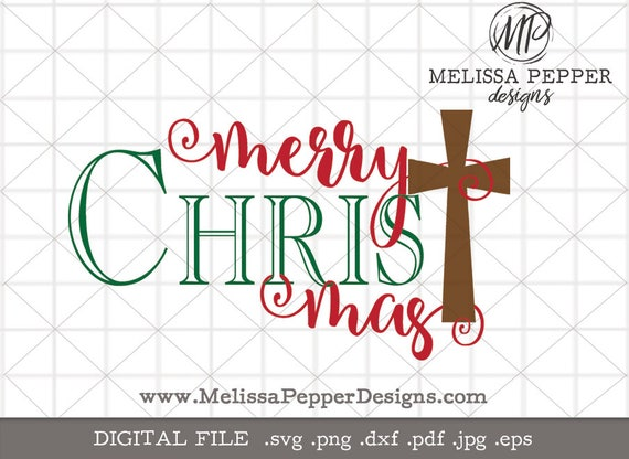 Merry Christmas svgmerry christ mas svgmerry christ mas | Etsy