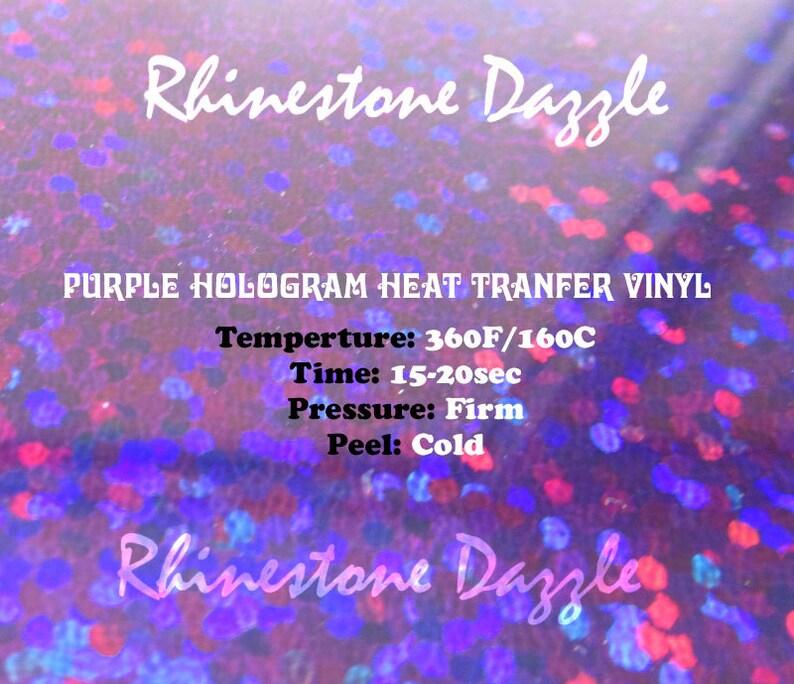 htv tshirt vinyl hologram Purple holographic heat transfer vinyl heat transfer material iron on vinyl sheets