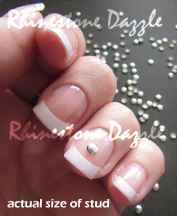 3mm Silver Round Nail Studs 3d Nail Art Diy Nail Art Nail Etsy