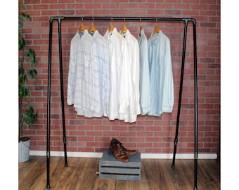 Clothing Rack | Clothes Rack | Garment Rack | Clothing Storage | Industrial  Pipe Clothing Rack | Pipe Closet Organizer | FAST FREE SHIPPING!