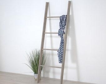 Wooden Decorative Ladder Shelf