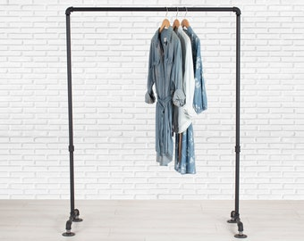 Garment Rack   Clothing Storage Rack   Clothes Organization Rack   Pipe Clothing Rack   Closet Organizer   Pipe Rack   FAST FREE SHIPPING!!!