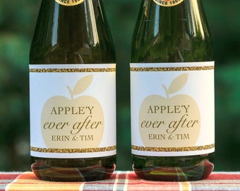 Bridal shower cider | Etsy