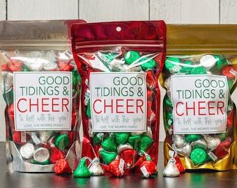 Christmas Candy Bag Etsy