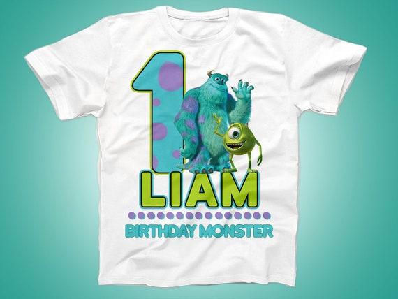 d4d7cd25 Monsters Inc Birthday Shirt Monsters Inc shirt Monster | Etsy
