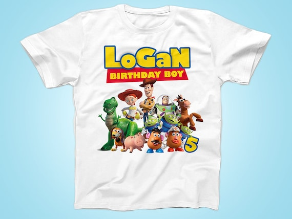 Toy Story Birthday Tshirt Buzz Birthday Shirt Personalized  38c0b691afc