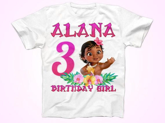 Moana Birthday Shirt Baby