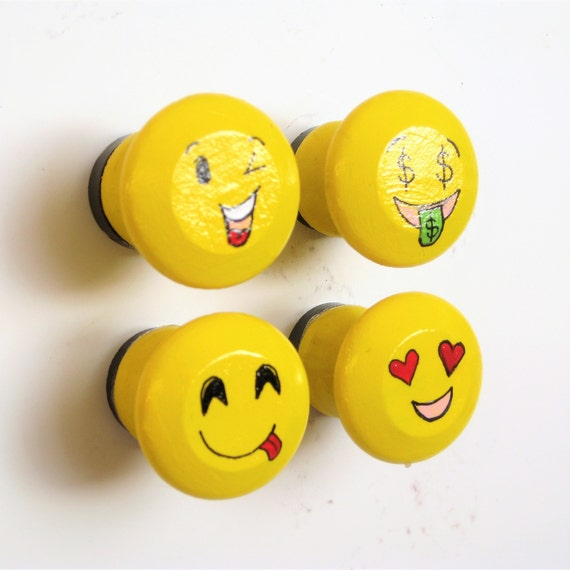 Emoji Magnets Fridge Magnets Office Decor Kitchen Accessories Office Supplies Emoji Decor Yellow Themed Decor Useful Gifts Fun Gifts