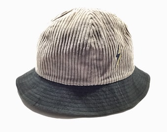 4cc24ce56d Vintage LIGHTNING BOLT Surfing Corduroy Bucket Hats