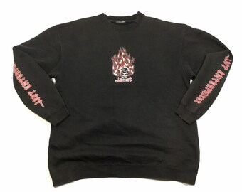 f75ca5bef Vintage LOST ENTERPRISES Skateboard Sweater Sz X-Large