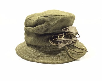 adb06ec32 FIORUCCI ITALY Designer Bucket Hats | Etsy