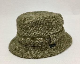 Vintage FAILSWORTH Grouse Harris Tweed Bucket Hat Sz Medium Made in Britain b916657c3058