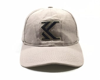92263be473cbd Vintage 90  KARL KANI Jeans Embroidered Logo Cap Made in USA