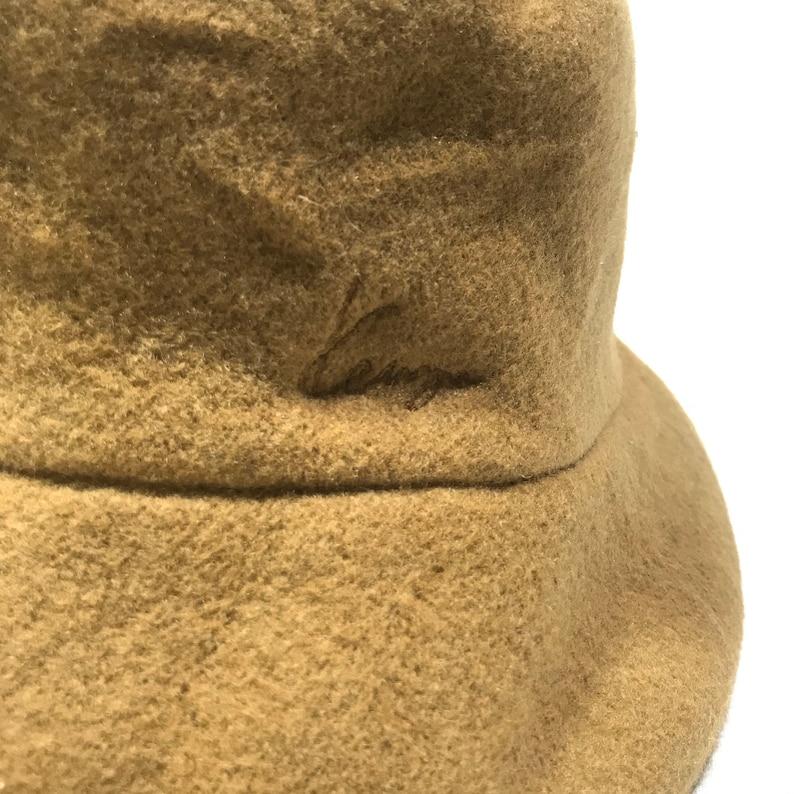 KENZO Paris Wool Bucket Hat Made in Japan