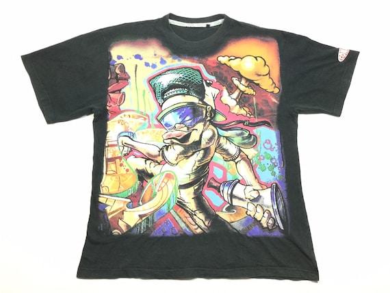 Rare Vintage CONART Clothing Inc. Art Graffiti Hip