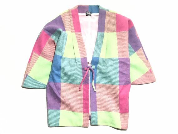 Vintage 90' KYOTO JAPAN Woollen Pyjamas Robe