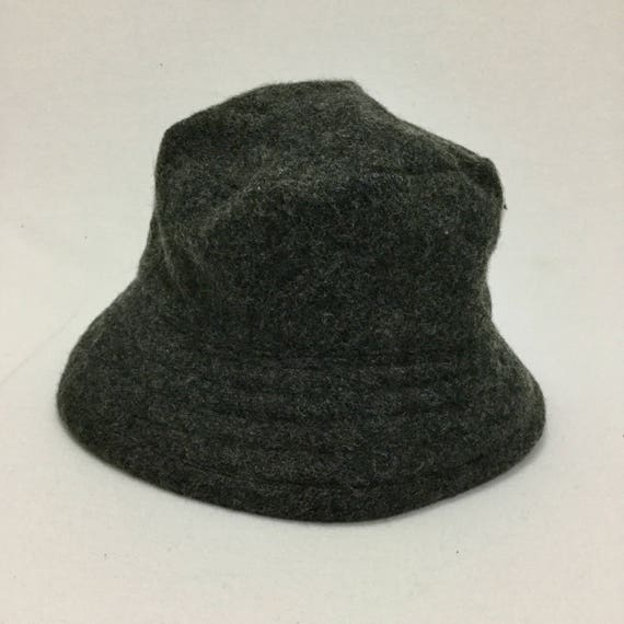 5a8e559c3d5 Vintage NEW YORK Hat   Cap Co. Wool Bucket Hats Sz Medium