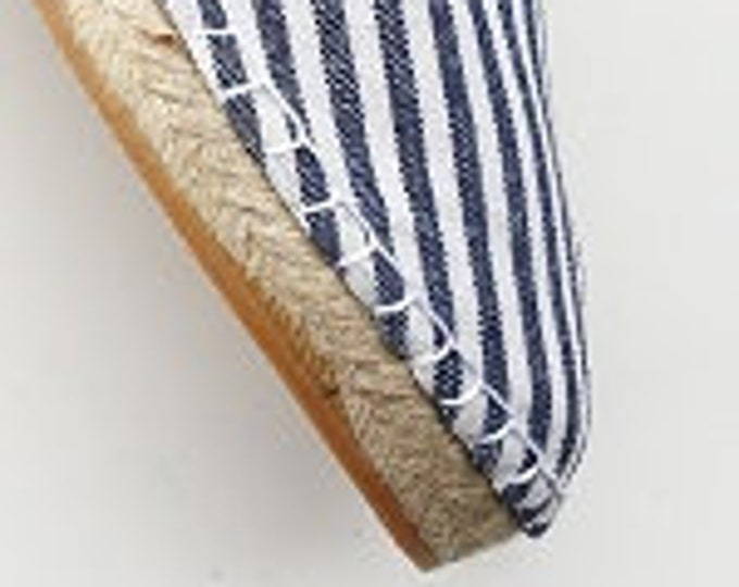COLORFUL ESPADRILLE FLATS - Navy & Pirate Collection - made in Spain - ecologic, sustainable, vegan