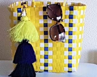 PLASTIC BAG with TASSEL ring - www.mumicospain.com