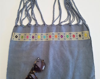 MEXICAN Cotton market bag - mexican MARKET BAG - www.mumicospain.com
