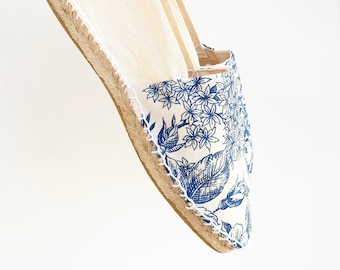 UNISEX ESPADRILLE FLATS -MumiCO 2021 CoLLECtion - Lace up - made in Spain - ecologic, sustainable, vegan