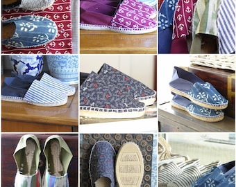 Flat Espadrilles With Printed Front - MUMICO COLLECTION 2019 - Made In Spain - www.mumicospain.com