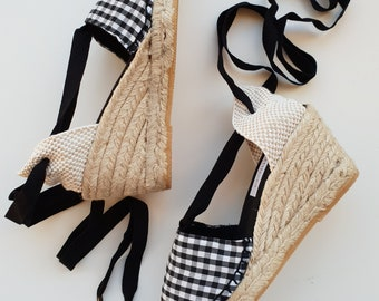 Lace-up espadrille wedges - MUMICO COMPLETE COLLECTION 2019 - made in spain - www.mumicospain.com