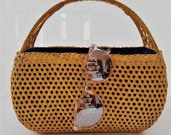 SALE: Vietnamese vintage rattan bag -  RATTAN VINTAGE - www.mumicospain.com