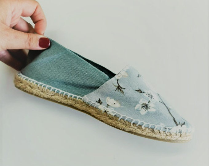 FLAT ESPADRILLES COLORFUL - unisex women men - JaPaNeSe CoLLeCtioN - made in spain - organic, vegan, sustainable