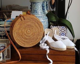 SALE: Ata grass balinese basket bag -  ATA GRASS - made in Bali